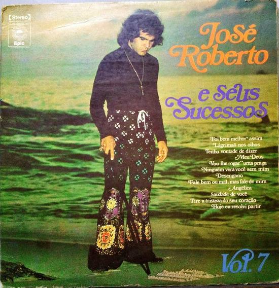 José Roberto E Seus Sucessos Lp 1973 Vol 7 Lp 10503