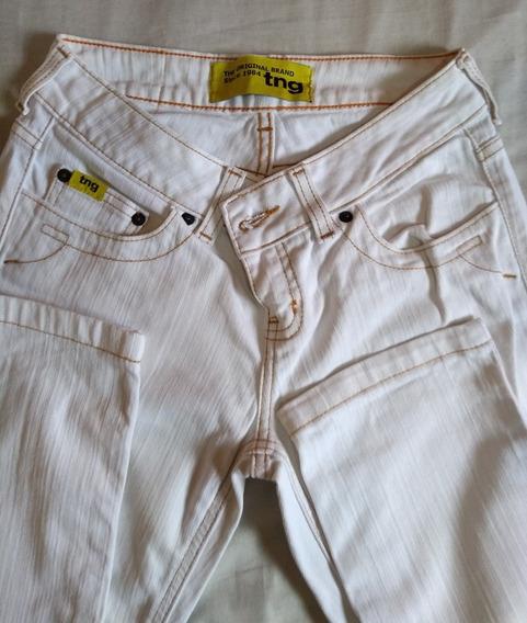 Calça Jeans Branca Tng