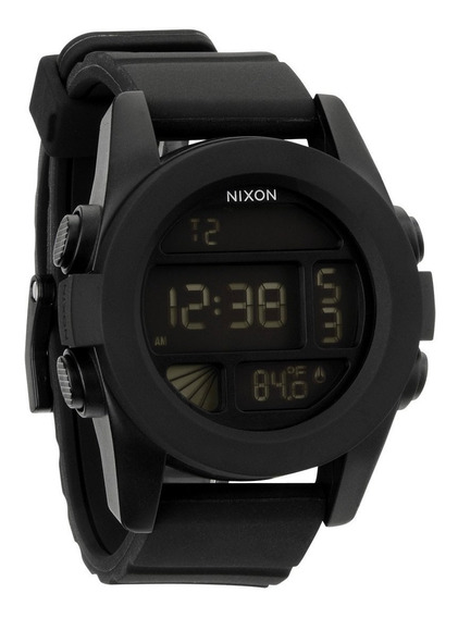 Relógio Nixon The Unit Preto Silicone Original G Shock Cassi