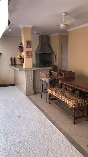 Casa De Condomínio Com 3 Dorms, Higienópolis, São José Do Rio Preto - V6422
