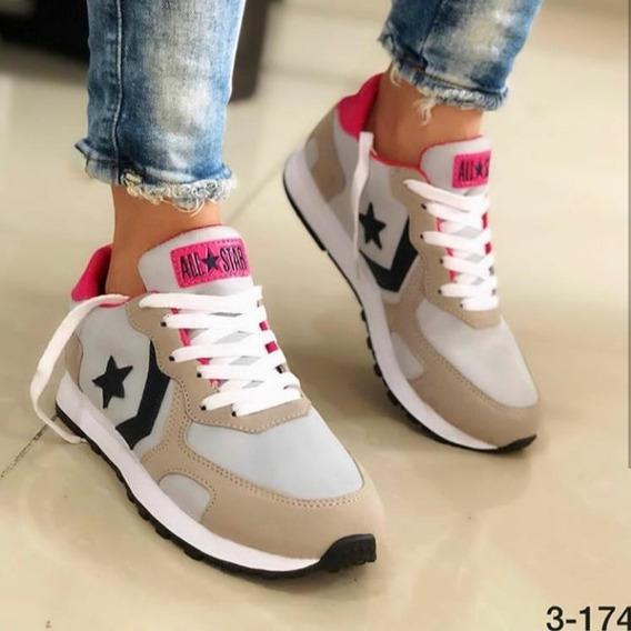 Zapatos Deportivos O Semi Casual All Star Dama
