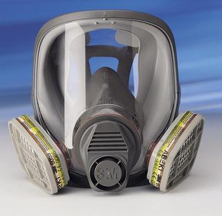 Respirador Full Face 3m Mascara Con Filtros