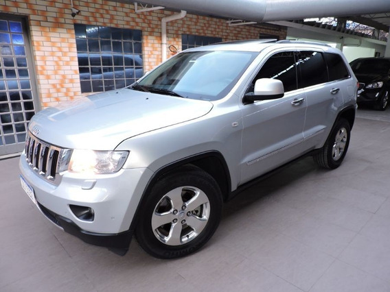 Jeep Grand Cherokee Limited 3.6 V6 4x4 2012 Prata