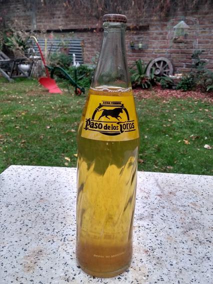 Antigua Botella Paso De Los Toros,llena