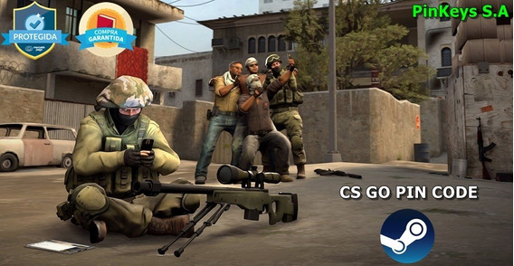 Codigo Pin Do Jogo Counter Strike - Global Offensive (cs-go)