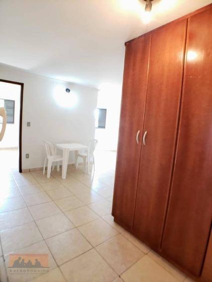 Kitnet Com 1 Dormitório Para Alugar, 41 M² Por R$ 1.200,00/mês - Cidade Universitária - Campinas/sp - Kn0234