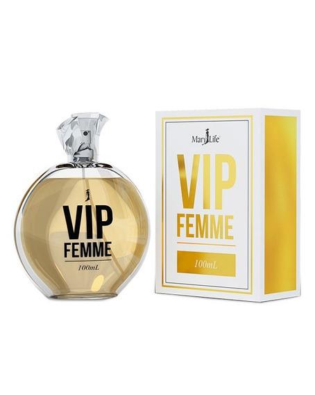 Perfume Feminino Vip Femme 100ml Mary Life - Envio Rapido