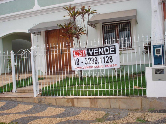Casa Com 3 Dormitórios À Venda, 250 M² Por R$ 780.000,00 - Jardim Chapadão - Campinas/sp - Ca0352