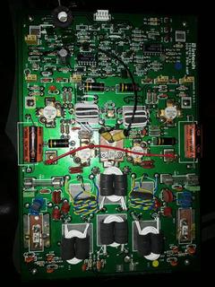 Placa Amplificadora Intech 159692 De 300w Con Disipador