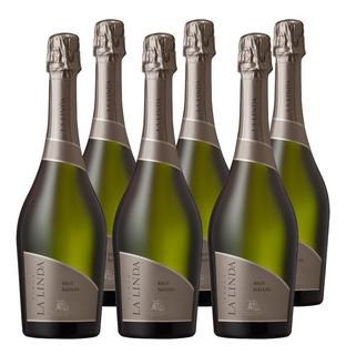 Champagne Finca La Linda Brut Nature X750cc Caja X6