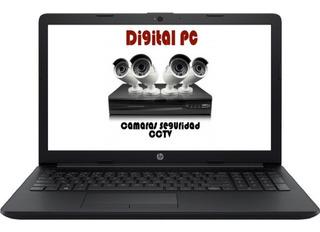 Notebook Hp Intel Dual Core Celeron N4000 4gb 500gb Ssd Opci