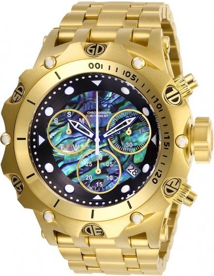 Relógio Invicta Venom Suiço 26688 Banhado Ouro Original