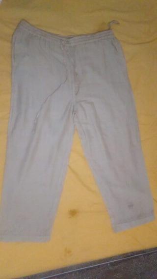 Pantalon De Lino Tipo Hindu