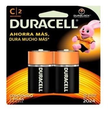 Pilas Duracell C 2 Und