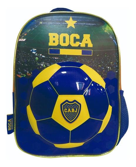 Mochila Espalda Jardin 12¨ Original Boca Juniors Escolar Ori
