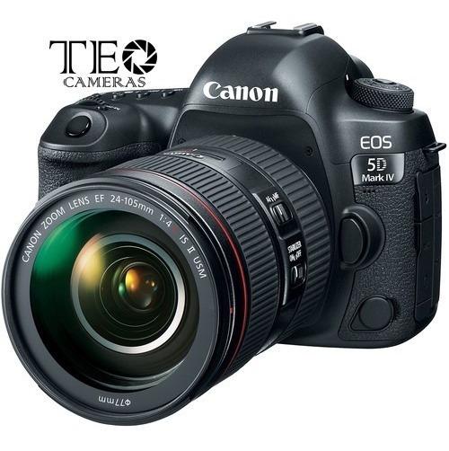 Camera Canon 5d Mark Iv 24-104mm F/4l Is Ii Usm C/ Recibo