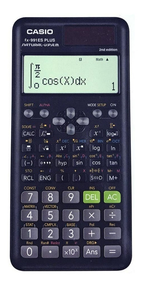 Calculadora Cientifica Cassio Fx-991es Plus Com 417 Funçoes