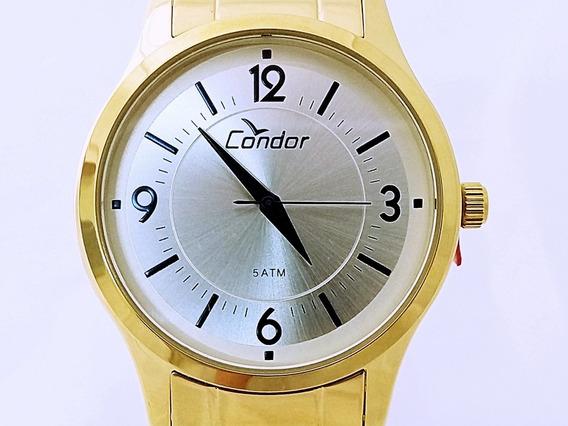 Relógio Condor Feminino Dourado Coal2036cn/4k