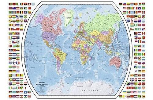 Ravensburger Mapa Político Del Mundo Rompecabezas De 1000 Pi