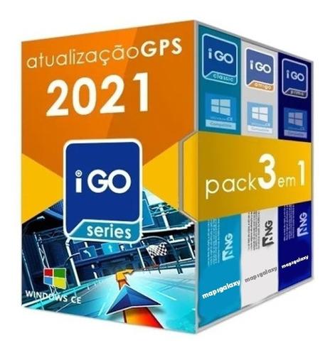 Imagem 1 de 7 de Atualização Gps 3 Navegadores Igo8 Amigo Primo + Suporte