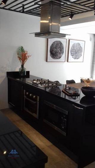 Lindo Ap No Centro De Florianópolis. 3 Dormitórios (2 Suítes). Lavabo, Sala, Área De Serviço, 1 Vaga De Garagem - Ap2765