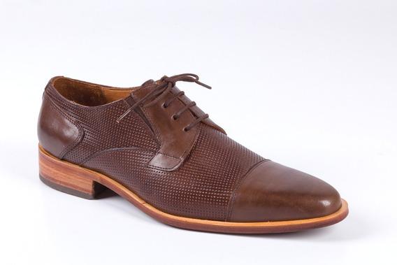 Zapatos Para Hombre Color Caoba - Modelo Nantes