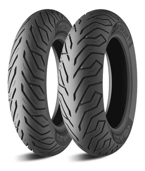 Par Pneu Michelin 110/70-13 + 130/70-13 Citygrip Frete Grats