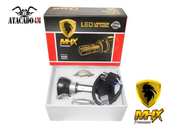 Lamp. Farol Biodo H4 12v 35/35 Led 4400lm 40w