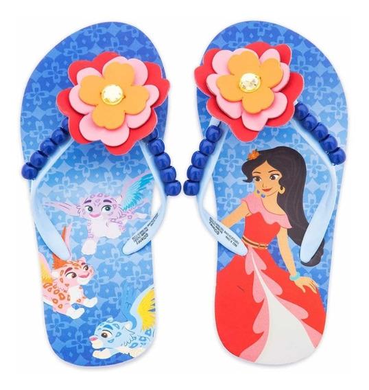 Elena De Avalor Disney Chanclas Flip Flop Niñas
