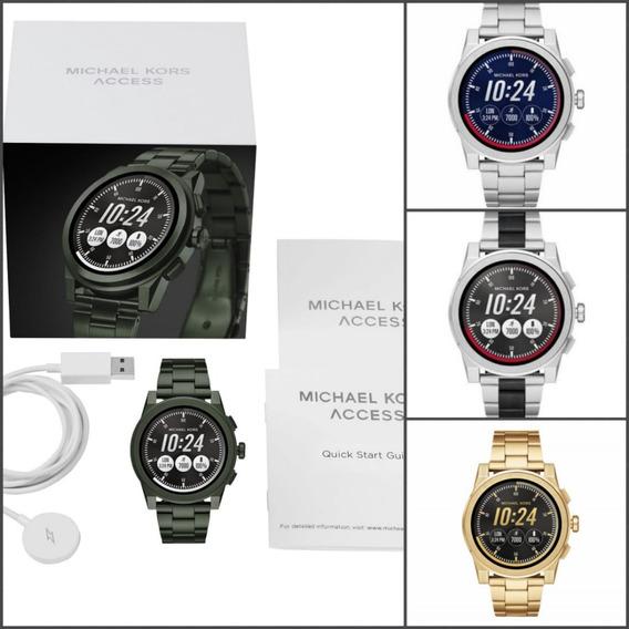 Reloj Michael Kors Plata /smartwatch Mk Dorado Negro Mkt5026