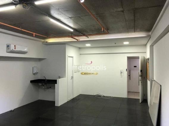 Sala Para Venda Ou Locação, 54 M² - Cerâmica - São Caetano Do Sul/sp - Sa0367