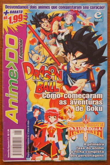 Revista Anime Do Especial Nº 6 Dragonball Rayearth