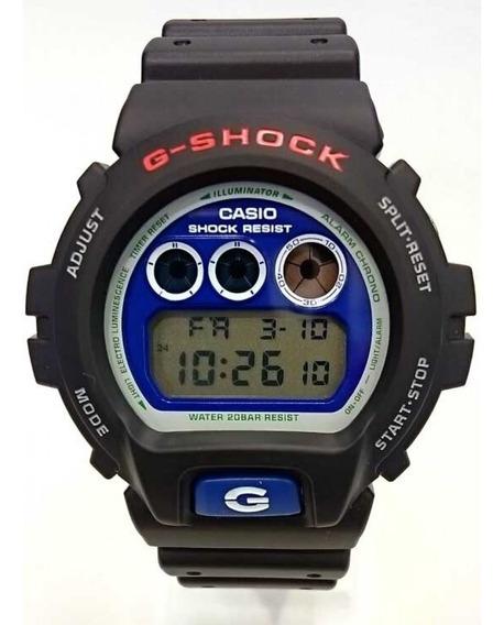 Relógio G-shock Dw-6900br-1dr *kit 2 Pulseiras Extras