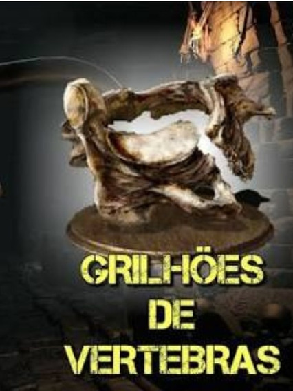 Dark Souls 3 (30 Grilhoes De Vertebra) Trofeu- Playstation 4