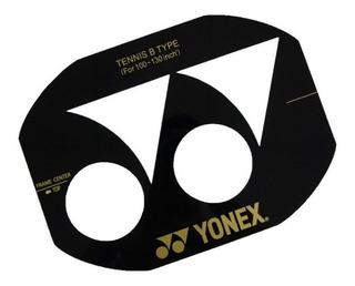 Stencil Molde Plantilla Logo Yonex Encordado Raqueta Tenis