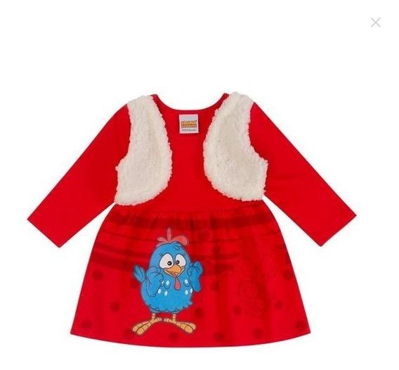 Vestido De Bebe Galinha Pintadinha Festa De Aniversario