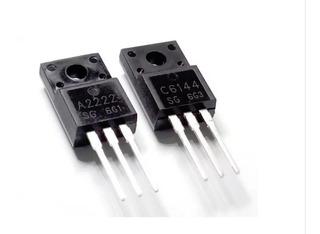 Transistor A2222 C6144 Ou 2sa2222 - 2sc6144 Da Epson - 1 Par