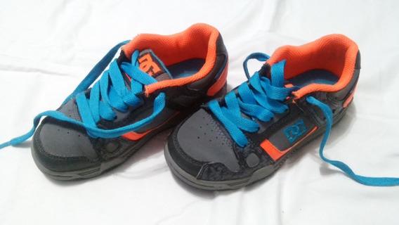 Zapatillas Dc De Ñino Talle Usa 3 , 19cm
