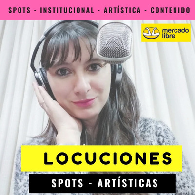 Locutora Nacional, Radio, Tv, Video. Spot Desde $450