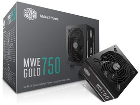 Fonte Mwe 750w - Gold - Mpy-7501-acaag-wo - Cooler Master