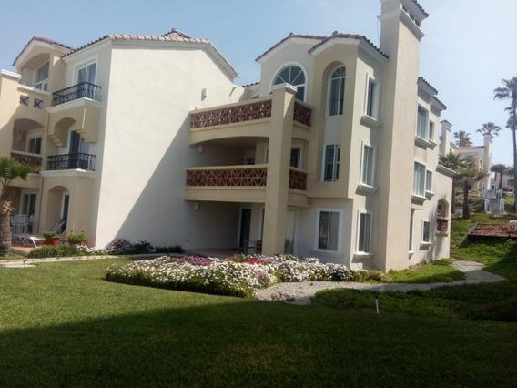 Condominio En Venta En Playa Blanca, En Playas Rosarito, Baja California.