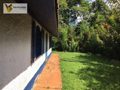 Chácara Residencial À Venda, Vargedo, São Lourenço Da Serra. - Ch0009