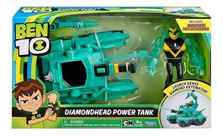 Ben 10 Vehiculo Lanzador Con Muñeco Varios Personajes