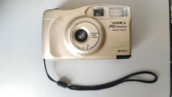 Máquina Fotográfica Yashica Mg-motor