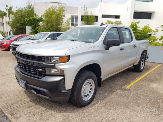 Chevrolet Silverado 2020 4p Wt Dc 4x4 F