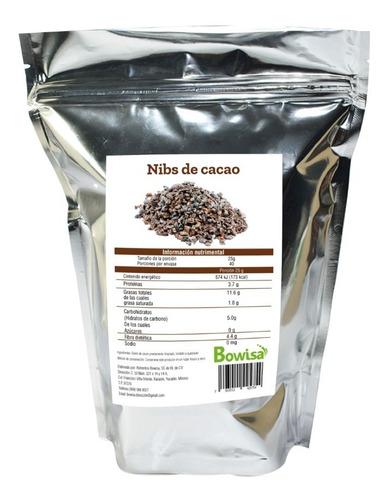 Nibs De Cacao Bowisa 1 Kg
