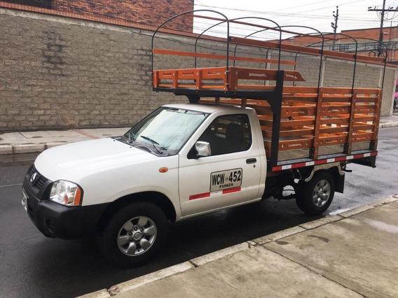 Nissan Frontier 2014 4x2 Estacas Gasolina D22 Np300 1 Ton