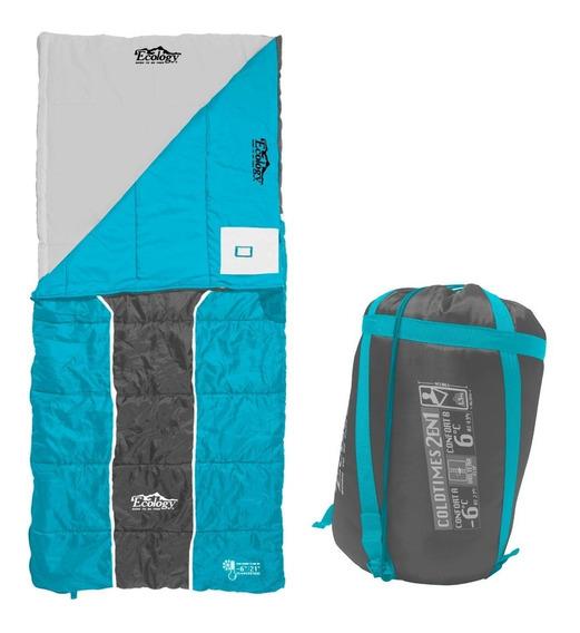 Sleeping Bag Bolsa De Dormir 2 En 1 Ecology -6ºc / 6ºc