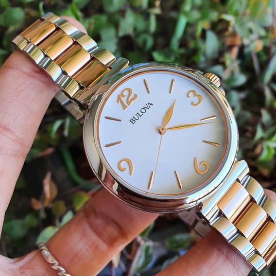 Relógio Bulova Unissex Rosê Aço