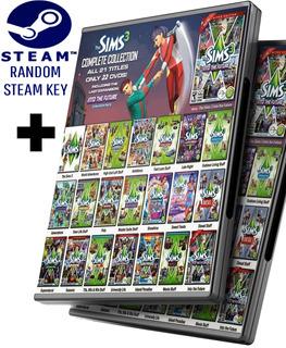 Random Steam Key + Los Sims 3 La Colección Completa + Todas Las Expansiones - Juego Pc Windows + Regalo